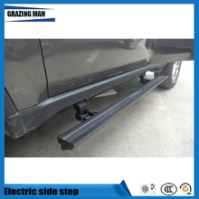 Hot sale aluminium alloy Flexible side step running board Electric pedal for Freelander 2