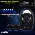 De alta qualidade! 1 PCS charger + 4pcslir2032, Lir2025 ML2032 ML2025 CR2032 coin battery charger EU plug botão excelência