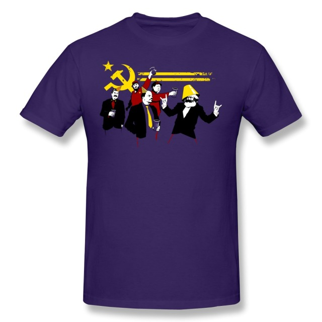 Geek Short Sleeve The Communist Party (original) Men's tshirt Cheap Sale 100 % Cotton T Shirt for Men's