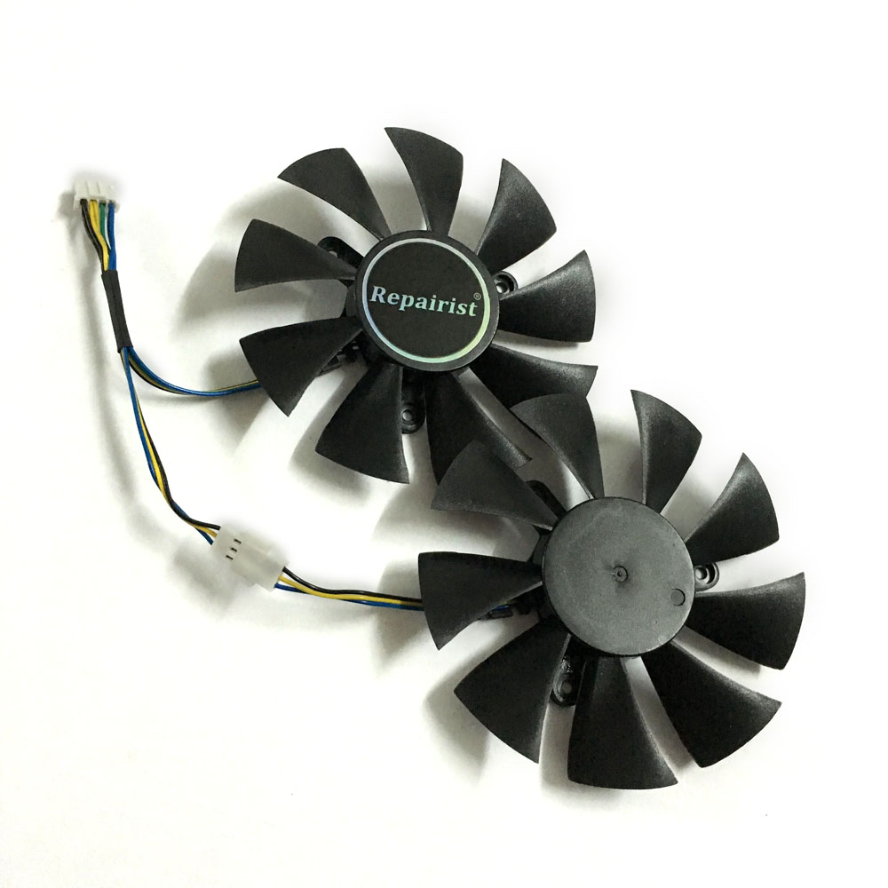 2pcs/set GFY09010E12SPA GA91S2H <font><b>GTX</b></font> 1070/<font><b>1060</b></font> GPU Cooler video card fan For zotac GTX1060 GTX1070 <font><b>MINI</b></font> Graphics Card cooling image