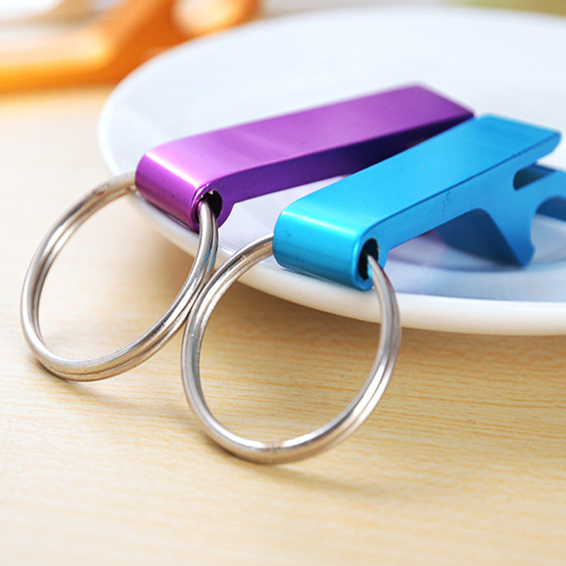 High Quality Aluminum Alloy Beer Bottle Opener 4 in 1 multifunction Poatable Pocket Can Opener Jar Openers Home Wedding Gifts