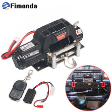 Автоматическая лебедка и Беспроводной пульт управления, ресивер для 1/10 RC автомобиль гусеничные осевой SCX10 TRAXXAS TRX4 D90 TF2 Tamiya CC01