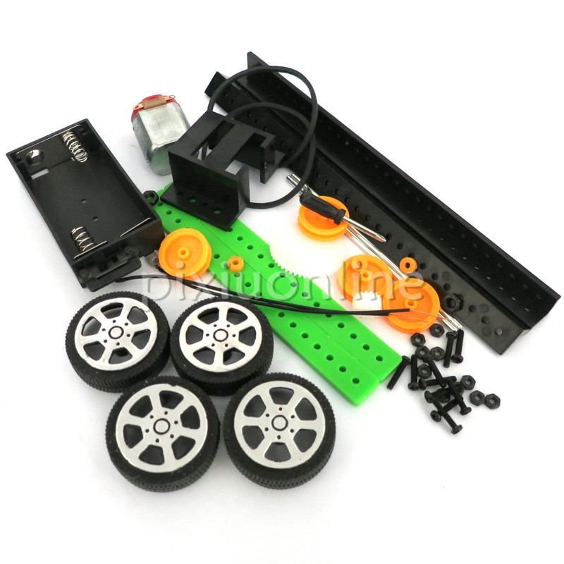 1pc J262 DIY Model Four-Wheel Drive Car Small Toy Car Assemble Teaching and Technology Free Shipping Russia1pc J262 DIY Model Four-Wheel Drive Car Small Toy Car Assemble Teaching and Technology Free Shipping Russia