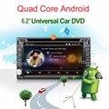 Quad Core авторадио 2 din android радио gps-навигация 2din dvd-плеер автомобиля рулевого колеса Камера Заднего вида WI-FI ТВ (опция)
