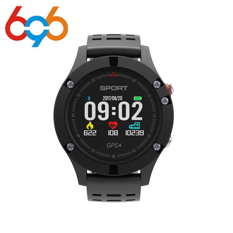 696 F5 GPS Smart watch Altimeter Barometer Thermometer Bluetooth 4.2 Smartwatch Wearable devices for iOS Android купить в Москве 2019
