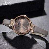 IBSO חדש יוקרה גבירותיי קוורץ שעון נשים Relogio Feminino שעות אופנה נשים יד שעונים נשי שעון Montre Femme 2018