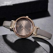 IBSO Montre à Quartz pour femmes, Montre bracelet de luxe, nouvelle mode, 2020