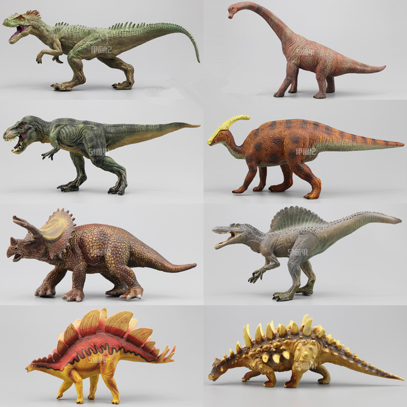 Jurassic Park Dinosaur Toys PVC Action Figure Classic Kid Toys For Collection / Gift Deluxe Animal Model Wholesale Price