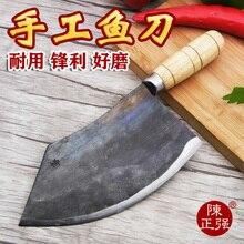 Czq handgefertigten carbon stahl sharp schneiden fischmesser professionelle filet messer küche schneiden fleisch gemüse messer hackmesser