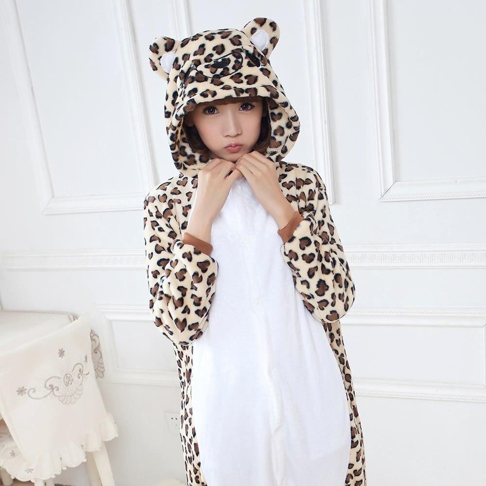 Detail Feedback Questions about Leopard Bear Animal Pajamas Unisex Adult  Pajamas Suits Flannel Pajamas Winter Garment Cartoon Animal Onesies Pyjamas  . 92cef2416