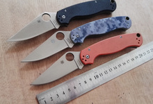 C81 58HRC CPM-S30V blade 3 colors G10 handle camping survival folding knife outdoor tools tactical knives