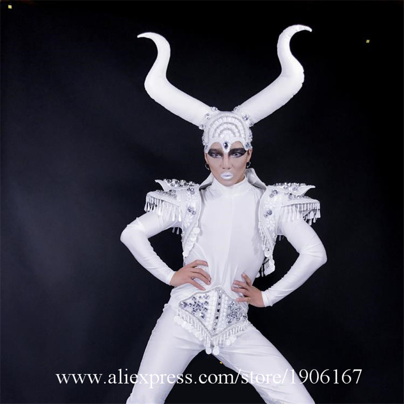 New Design Stage Performance Dance Team Clothes Nightclub Bar TV Show Ballroom Costumes Party Masquerade Outfit
