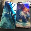 Kasatin para iphone 6 glitter macio tpu tampa do telefone de volta para o iphone 6 s luz azul silicone ultra fina de blue ray case para iphone 6 S