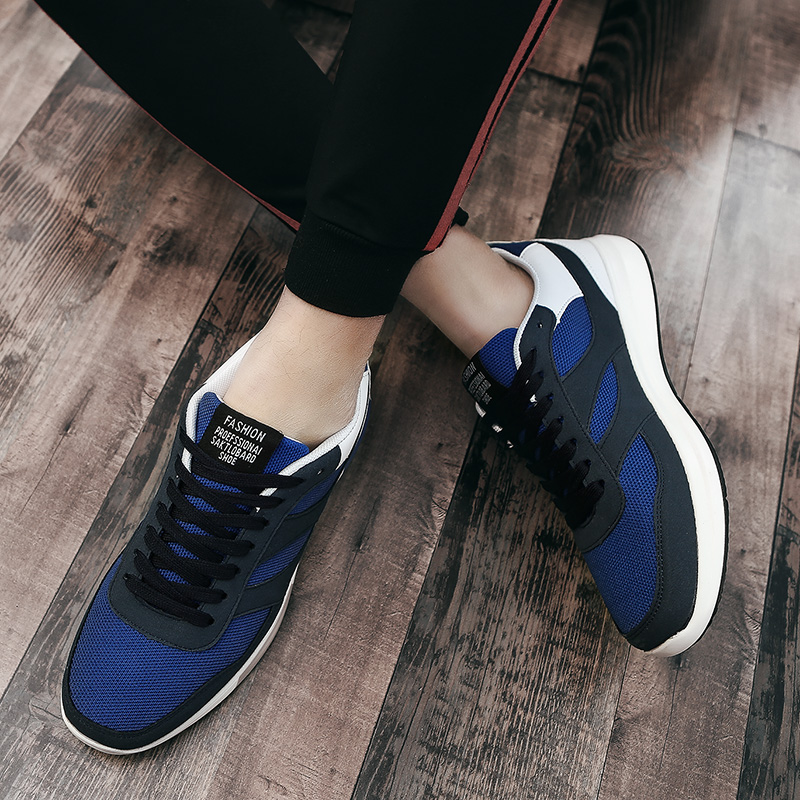2018 Hot Sell Men Casual Shoes Jogging Sneakers For Men New Mens Lace Up Breathable Shoes