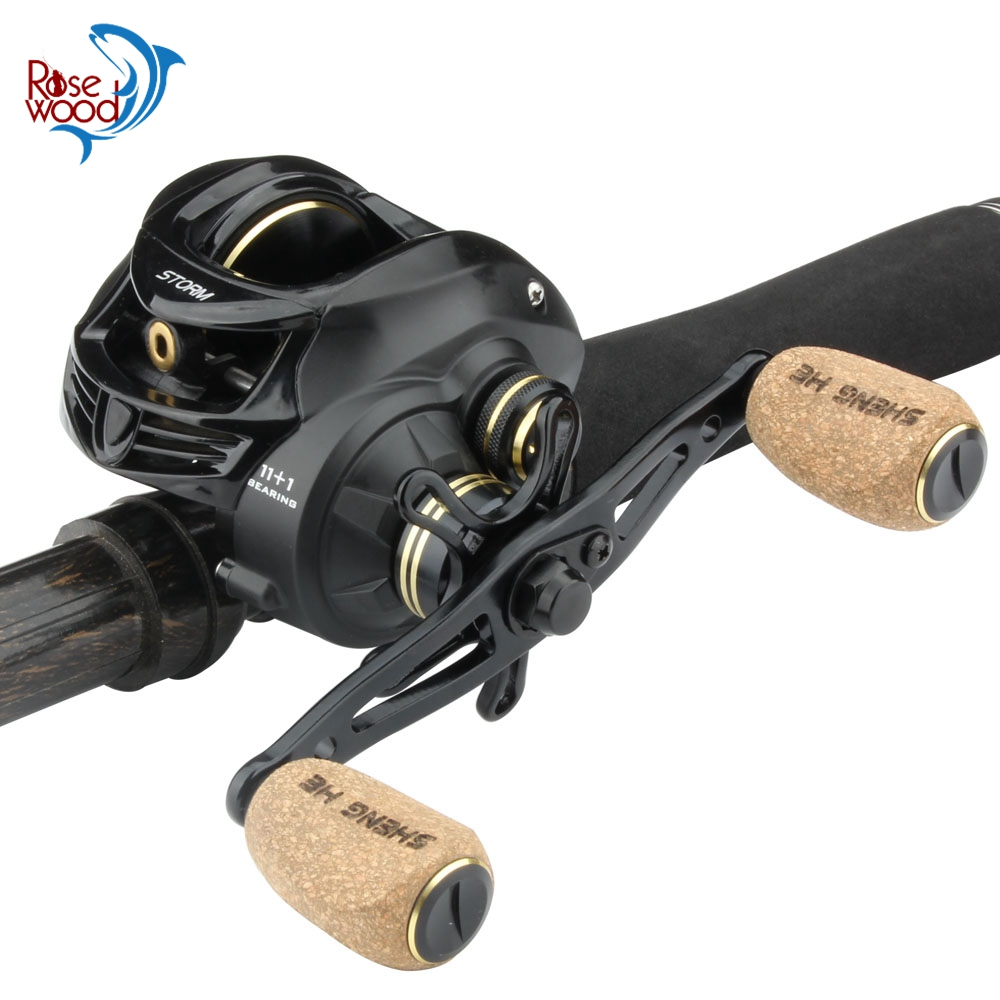 RoseWood New Magnetic Cast Control System Baitcasting Reel 8KG Max Drag 11 1 BBs 5 3