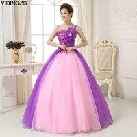 Pink Purple Quinceanera Dresses