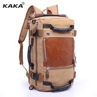 KAKA Brand Travel Camping Large Capacity Outdoor Backpack Male Messenger Shoulder Bag Computer Backpack Men Multifunctional