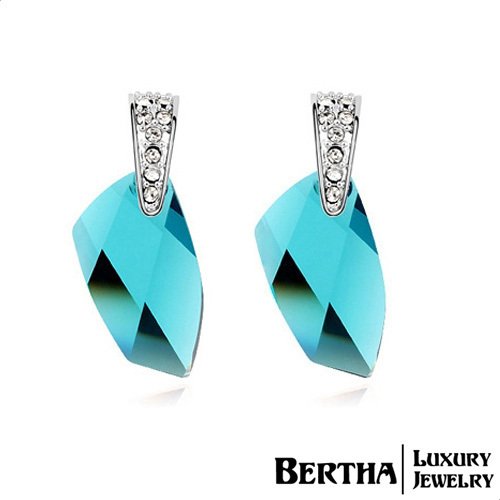 Hot Sell Luxury Earrings For Women Crystals from Swarovski Crystal Pendientes Fashion Jewelry Brincos Bijuterias спортивный комплекс пионер 9м зелено желтый