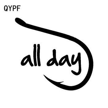 QYPF-pegatina de vinilo de alta calidad para coche, calcomanía adhesiva de 15,5...