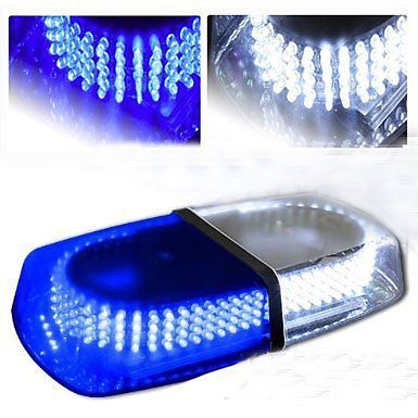 CYAN SOIL BAY Blue car LED Warning Lights Magnetic Mounted Vehicle Police LED Flashing Beacon flash Strobe Emergency Light Lamp антенны телевизионные ritmix антенна телевизионная