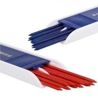 2 мм свинцовый стержень синий красный карандаш стержень; Длина 130 мм, 12 проводов в коробке