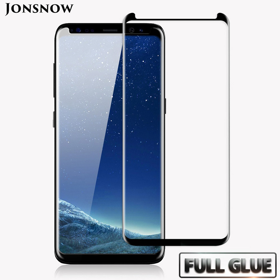 Full Glue Curved Glass For Samsung Galaxy S8 Tempered Glass For Samsung Galaxy S9 S9 Plus Screen Protecor For Galaxy S8 Plus