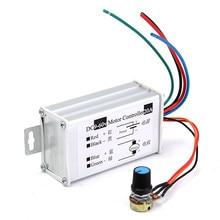 Nueva 12 V 24 V 20A Max. Variable Sin Escalonamientos PWM DC Motor Speed Controller 25 kHz Interruptor Populares
