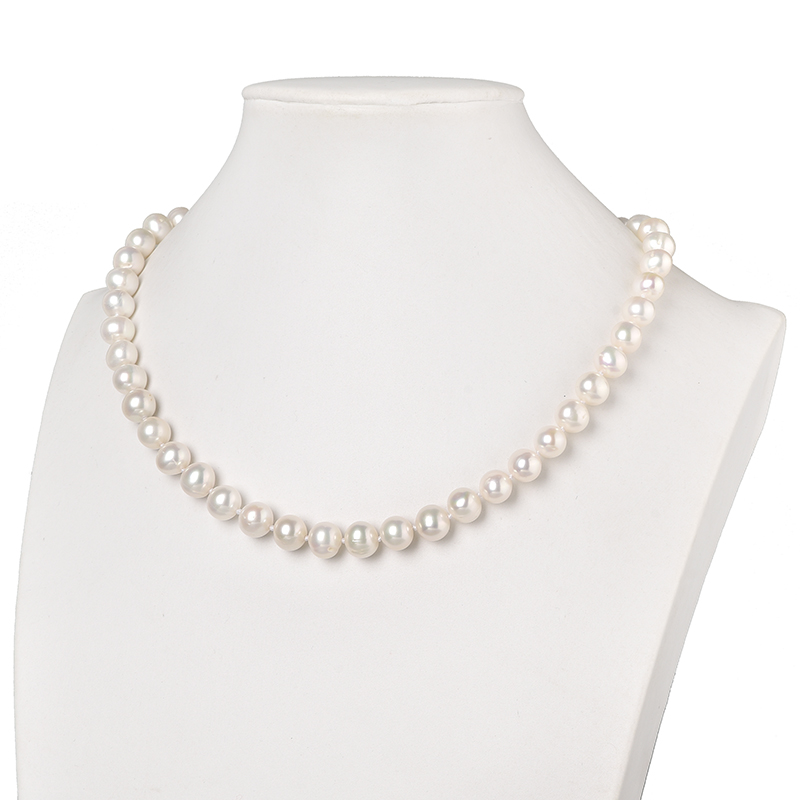Hot-selling 2A+ High Quality 8-9mm White Pearls Making Diy Necklace jewel Gifts Craft Supply For Pretty Girls Women 18inch H524Hot-selling 2A+ High Quality 8-9mm White Pearls Making Diy Necklace jewel Gifts Craft Supply For Pretty Girls Women 18inch H524