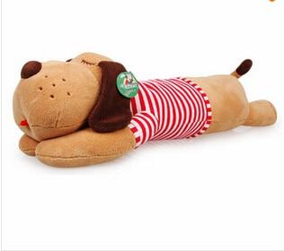 130 cm tamanho grande Bonito Bonecos de Pelúcia Gigante Mentira Propenso Cão Travesseiro macio Brinquedos De Pelúcia De Alta Qualidade Para A Menina do presente