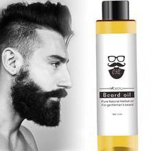 1 pc 30ml Mokeru 100% Organic Beard Oil Hair loss Products Spray Beard Growth Oi