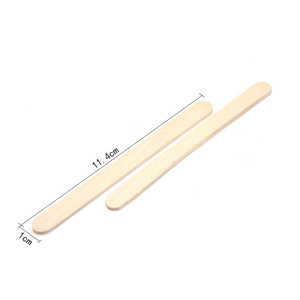 50 шт./партия цветные деревянные палочки для мороженого из натурального дерева палочки для мороженого Дети DIY ручной работы мороженое, конфета на палочке Инструменты для торта - Цвет: C