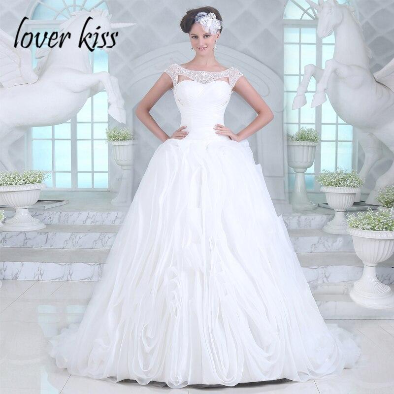 Lover Kiss Vestido De Noiva Vintage Rose Shaped Wedding