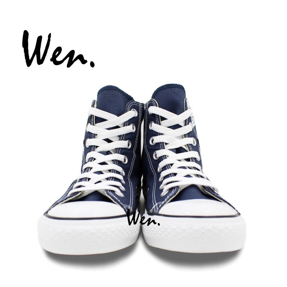 Wen Ručno oslikane cipele za dizajne Dizajn prilagođene liječnika - Tenisice - Foto 5