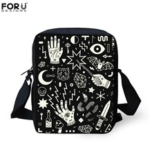 FORUDESIGNS SpellBound Hekserij Ouija Crafty Patroon Crosssbody Messenger Bags Vrouwen Handtas Mini Shopping Schoudertas Nieuwe(China)