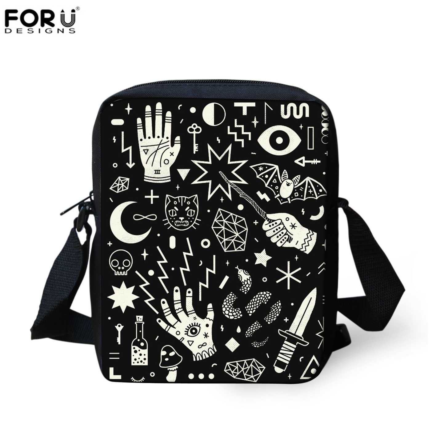 c84572c51c Detail Feedback Questions about FORUDESIGNS SpellBound Witchcraft Ouija  Crafty Pattern Crosssbody Messenger Bags Women Hand Bag Mini Shopping Shoulder  Bag ...