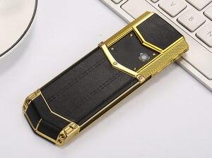 """Image 3 - Nga Bàn Phím Nút Kim Loại Sang Trọng + Tặng Bao Da Nhà Ở Gốc Trung Quốc Năm 1.8 """"Màn Hình GSM Dual Sim Kiêm Bluetooth Di Động điện Thoại"""