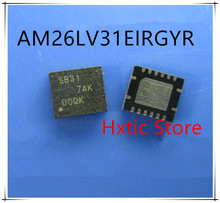 NEW 10PCS/LOT AM26LV31EIRGYR  AM26LV31 MARKING SB31 QFN-16 IC