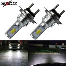 CJXMX 2Pcs H7 LED Lights 1600LM High Power 3570 CSP Chips Super Bright Car Fog Light Bulb 12V 24V 6500K White Auto Led Lamp
