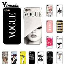 Yinuoda Brand New More Issues than Vogue Luxury Unique Design PhoneCase for iPhone X XS MAX 6 6s 7 7plus 8 8Plus 5 5S SE XR(China)