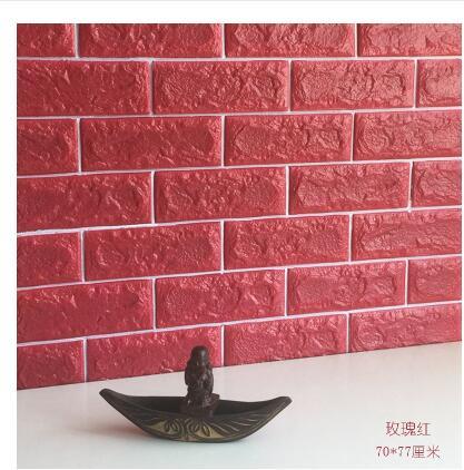 Wb 3d three dimensional import wall sticker tv wall tile wallpaper ...