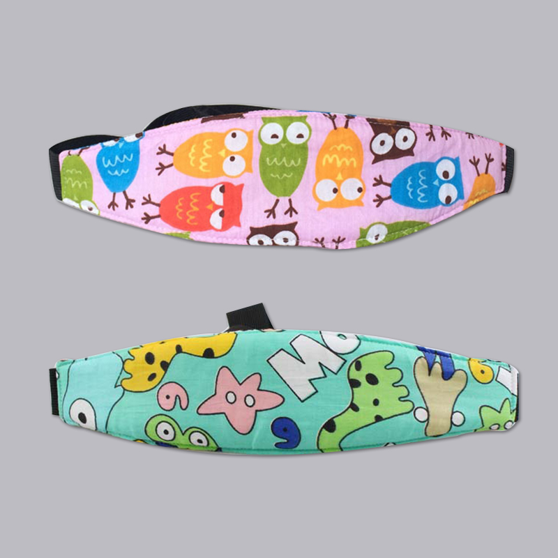 2pc/lot 100% carton Car safety belt seat supplies child pillow baby stroller travel fitted belt head safety belt many colors