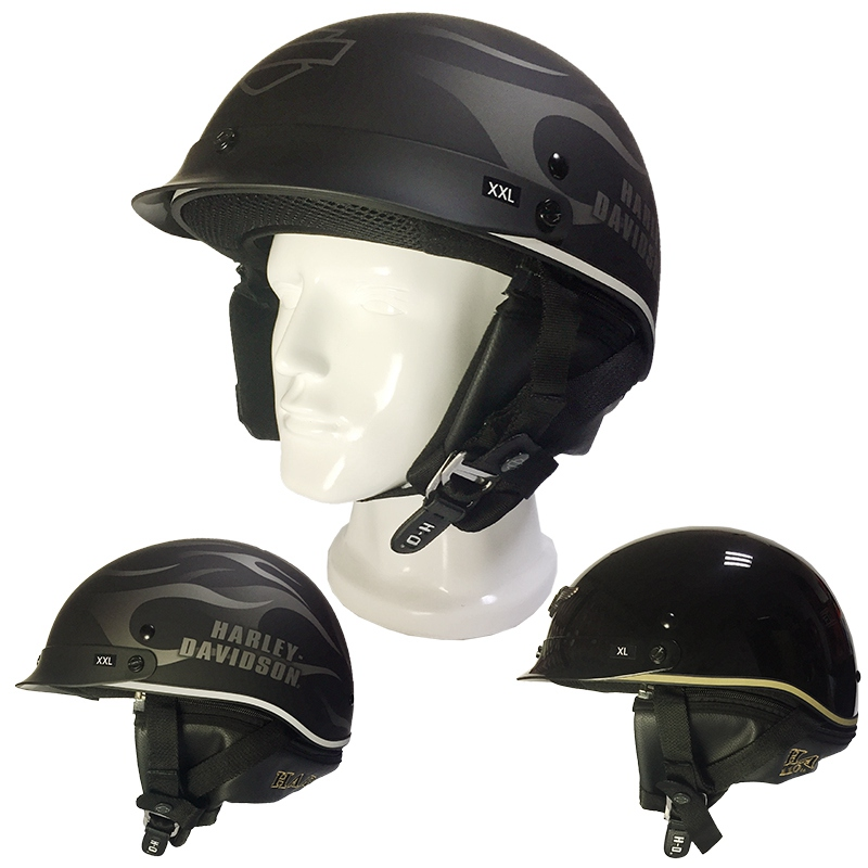 (1pc&2colors) DOT Approval Brand HL201 New Harley Motorcycle Helmet Spoiler Hybrid Vintage Motor Cycle Helmets Casco Casque 2017 new knight protection gxt flip up motorcycle helmet g902 undrape face motorbike helmets made of abs and anti fogging lens
