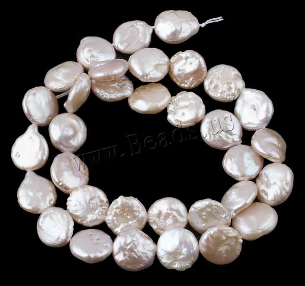 Coin Round Freshwater Pearl Beads Women Fashion Jewelry DIY Natural Pink 9-10mm Pearl Loose Beads Making for Bracelet Necklace chic solid color round coin bracelet for women