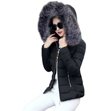 down jacket 2017 new womens fashion short paragraph coat large size hooded ultra light wome
