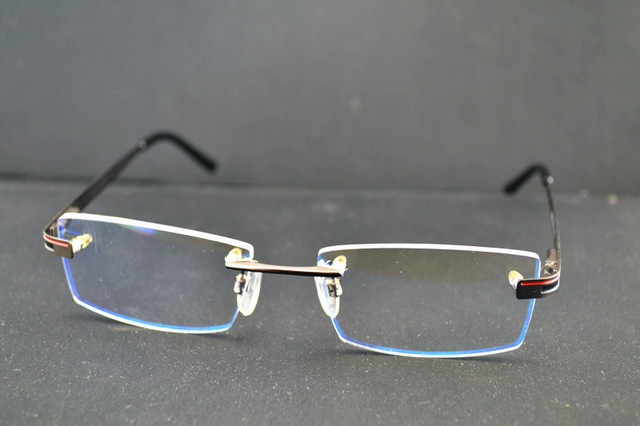 af08bbdc89 Rimless Glasses Thick Prescription