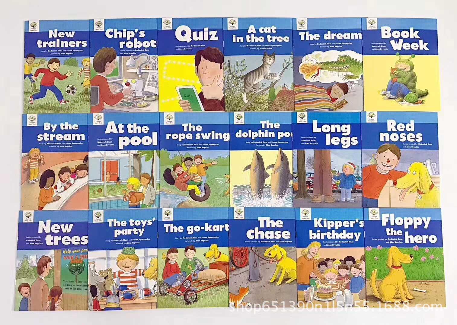 1 Set 52 livres 1-3 niveaux Oxford Story Tree bébé anglais lecture livre photo histoire maternelle jouets éducatifs pour les enfants - 4