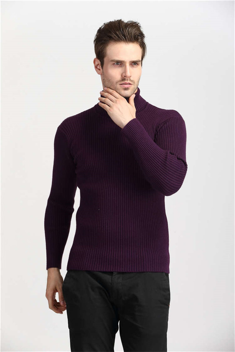 COODRONY Winter Thick Warm Cashmere Sweater Men Turtleneck Mens Sweaters Slim Fit Pullover Men Classic Wool Knitwear Pull Homme 10