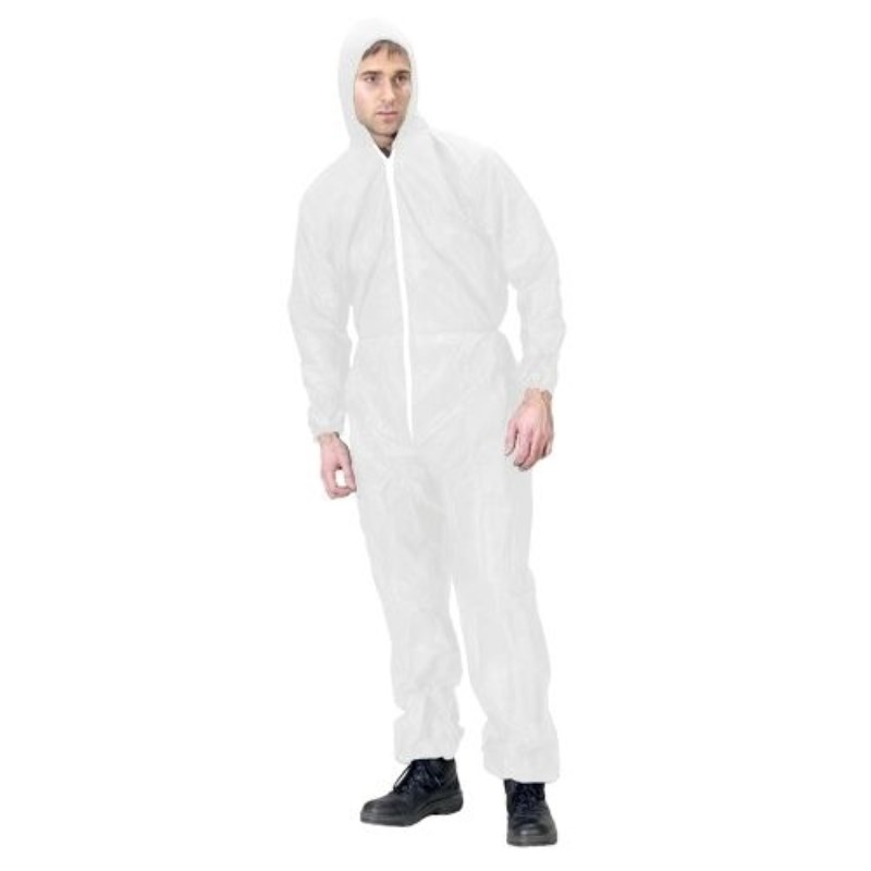 2 Pcs Protective Clothing Overalls Virus Breathable Anti-dust Static Chemical Clothing Genuine Pesticide Paint Clean Clothing