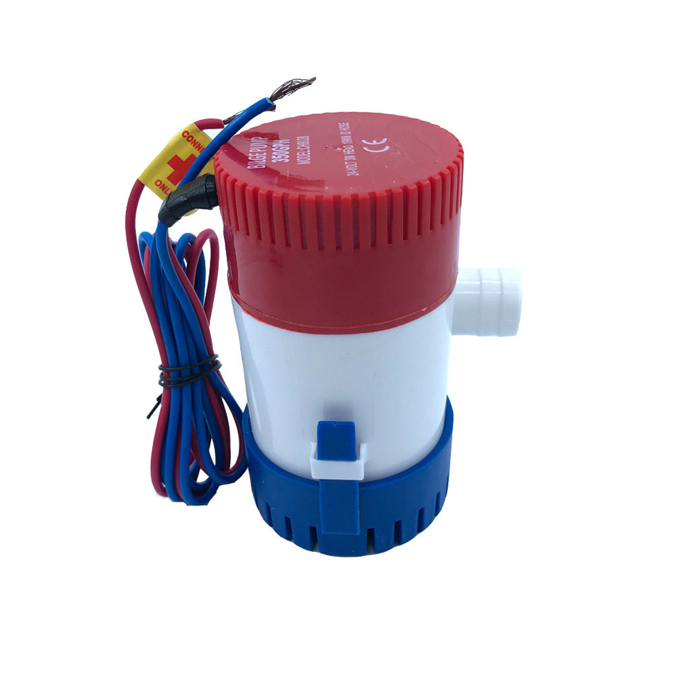 Bilge Submersible Water Pump 12V 24V 350GPH Micro Marine Boat Seaplane Motor Homes Houseboat Aquario Filter Accessories  free shipping 1100gph 12v high flow submersible used water in boat seaplane motor homes houseboat
