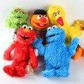 New 1pc 30cm Cute Sesame Street Plush Toys Elmo Big Vird Cokkie Monster Stuffed Dolls Toy Children Birthday Gifts Party Presents